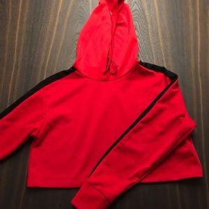Trendy Crop top sweatshirt